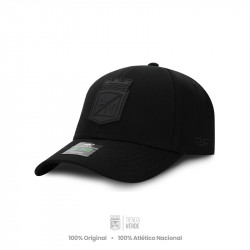 Gorra negra escudo negro...