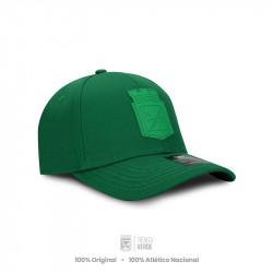 Gorra verde escudo verde...