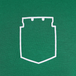 Camiseta verde silueta escudo Moda Atlético Nacional