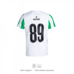 Camiseta rayas escudo 1989 Moda Atlético Nacional