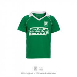Camiseta Mini Autos Verde...