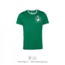 Camiseta verde escudo 1989...