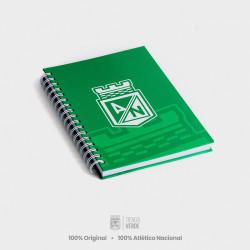 Cuaderno verde escudo 2020...