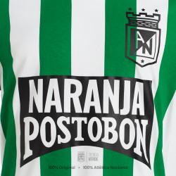 Buso con capucha ceniza ATL/NAL Moda Atlético Nacional 2020