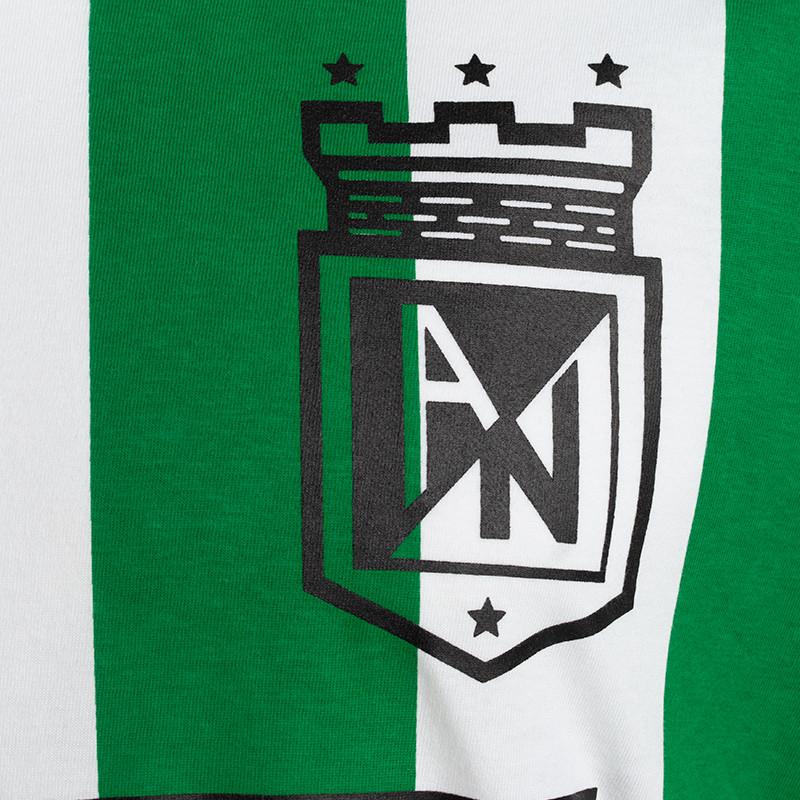 Buso con capucha ceniza Nacho Moda Atlético Nacional 2020