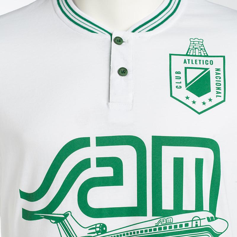 Chaqueta Rompevientos negra Moda Atlético Nacional 2020