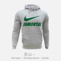 Hoodie Inmortal Moda Express Gris Hielo Nike 2019