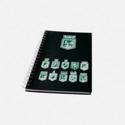 Cuaderno argollado grande...